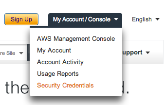 Amazon EC2 Security Credentials Access